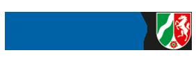 Ministerium der Finanzen des Landes Nordrhein-Westfalen Logo